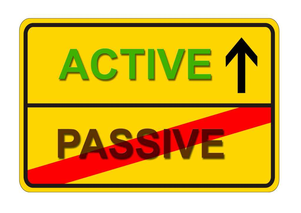 active vs passive Passive income is earnings derived from a rental property, limited partnership or other enterprise in which a person is not actively involved as with active income, passive income is usually taxable however, it is often treated differently by the.