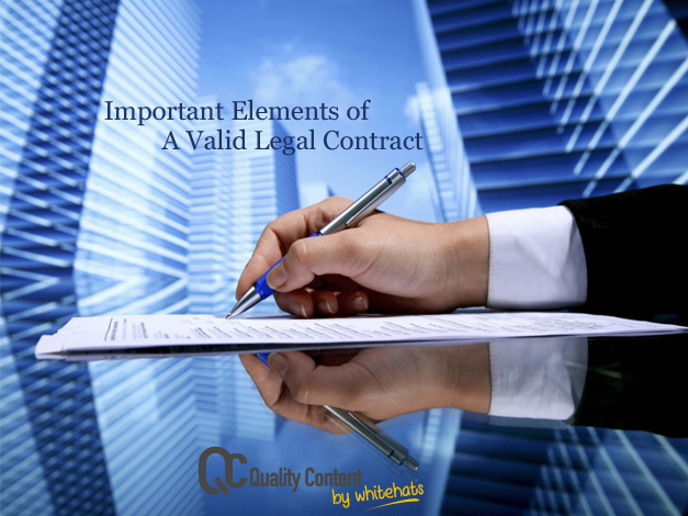 A Valid Legal Contract writing services-QualityContent