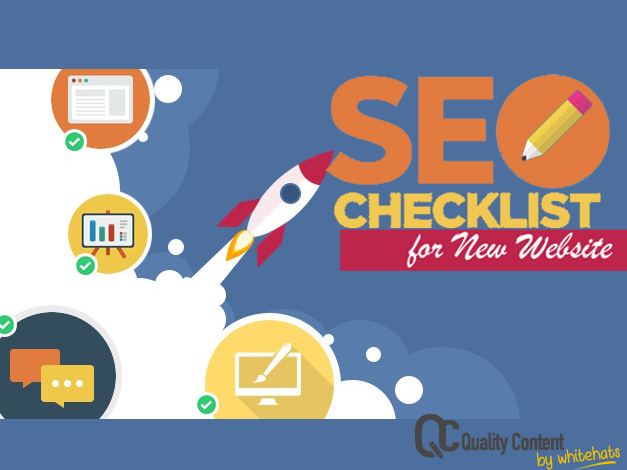 SEO Checklist for New Website-Website Content Writing Services in Dubai