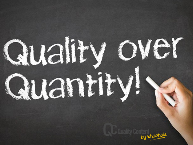Quality over Quantity--Quality Content Services in Dubai -QualityContent