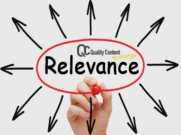 Relevance- Quality Content Services in Dubai -QualityContent